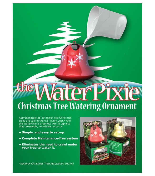 Christmas Tree Watering Ornament